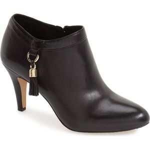 Vince Camuto Vecka Tassled Booties, Size 9